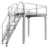VERTIwrap platform for 4 weighi