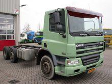 2006 DAF FAG CF 75.250 EURO 3