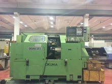 1984 OKUMA CNC Lathe LB-15 4929