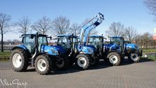 Used Holland tractor