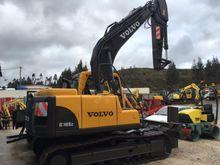 2006 Volvo EC140BLc Track excav