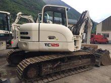 2007 Terex TC125 Track excavato