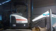 2013 Bobcat E26 Mini digger
