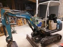 2007 Messersi M18BE Mini digger