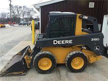 Used 2013 DEERE 318D