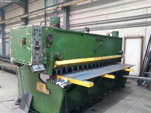 Hydraulic guillotine shears PLA