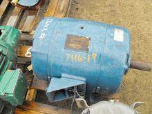 GE Motor, 7-1/2HP, 875 RPM