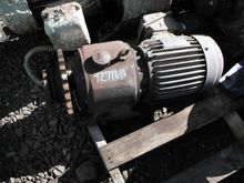 TECO 2HP, 153 RPM Integral Gear