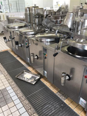 1995 ELRO Canteen large kitchen