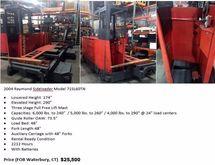 2004 Raymond 71SL60TN Forklift