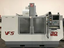 2001 Haas VF5 VERTICAL MACHININ