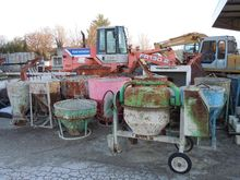 Cement mixers and Cassoni