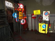 Used Road signs and