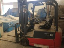 Used Forklift Nichiy
