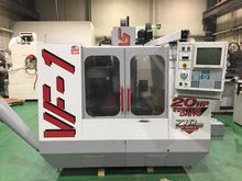 Haas VF-1 CNC Vertical Machinin