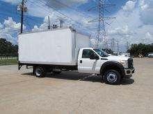 2011 F550 Box Truck 4x2
