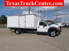 2014 F550 Box Truck 4x4