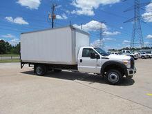 2011 F450 Box Truck 4x2