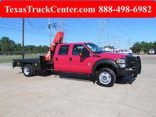 2012 F550 Crane Truck