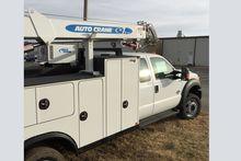 2016 F550 Crane Truck