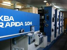 Used KBA Rapida 104