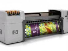 2010 HP l65500 Latex plotter fo
