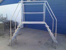 Footbridge in Stainless steel,