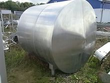 7500l Stainless steel tank, ins