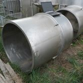 1300l Stainless steel tank with