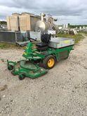 Fox 24 mower with hydraulic dum