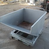 Stainless steel tilting contain