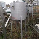 Used 400 liter tank