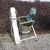 Stainless mixer with 300 liter
