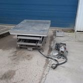 Stainless steel lifting table l