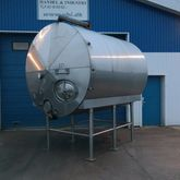 10000 liter stainless insulated