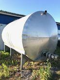 25000 liter stainless steel hor