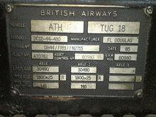 Douglas DC12-44 Heavy Aircraft