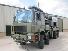 1994 Man 41.372 8x8 crane truck