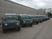 2002 Land rover 110 LHD station