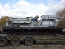 Used MTU 2500 KVA Ge