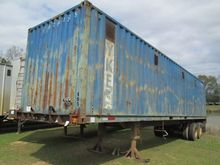 STEEL CHIP TRAILER, - T/A, 40'