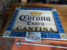(1) Corona Extra sign