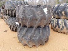 (2) SKIDDER TIRES & RIMS