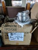 box of cappuccino cups and sauc