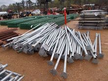 "7' 9"" GALV STEEL FENCE POSTS"