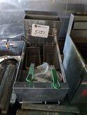 (1) commercial fryer, 2-basket