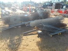 (2) ROLL 6' CHAIN LINK FENCE W/