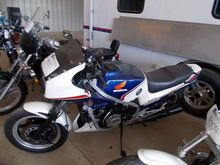1983 HONDA 750 INTERCEPTOR MOTO