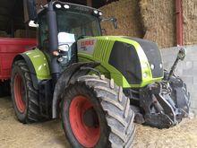 2009 Tractor Claas Axion 830, 1