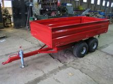 "Trailers for mini tractors ""Agm"